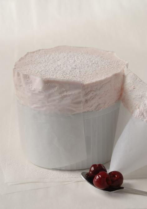 Soufflé glacé aux cerises